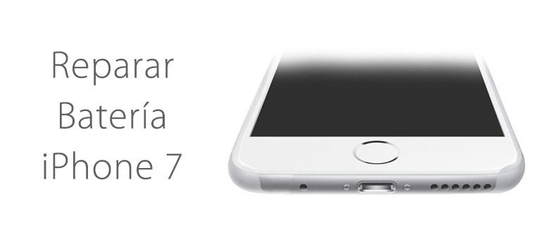 Reparar batería de iPhone 7 si no carga en iFixRapid