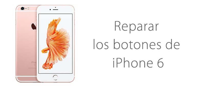 Reparar el botón de encendido atascado de iPhone 6