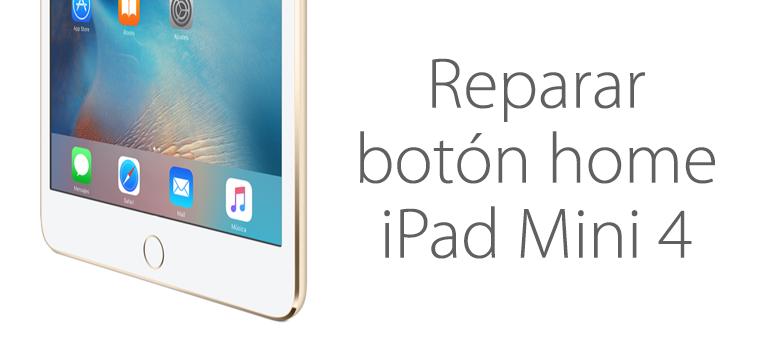 Reparar el botón home de iPad Mini 4 en iFixRapid