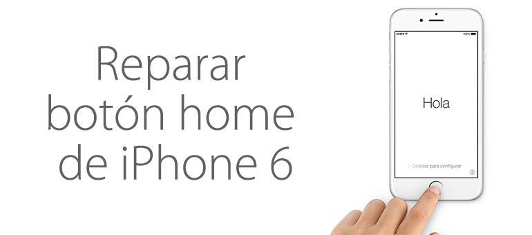 Arreglar el botón home roto de iPhone 6 Plus con iFixRapid