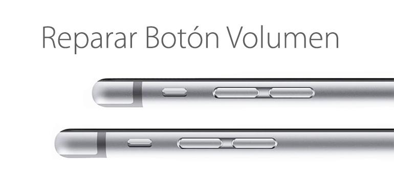 Arregla el botón volumen de tu iPhone 6