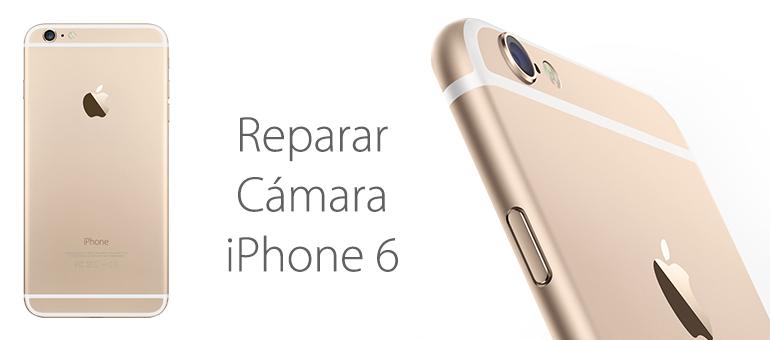 Reparar la cámara delantera o trasera de tu iPhone 6 es muy sencillo