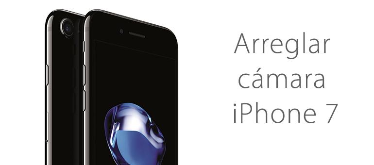 Reparar la cámara de iPhone 7 si se ve en negro