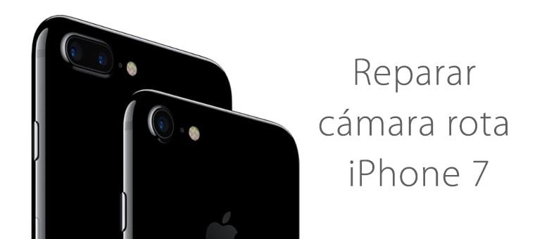 Cambiar el cristal de la cámara de iPhone 7 en iFixRapid