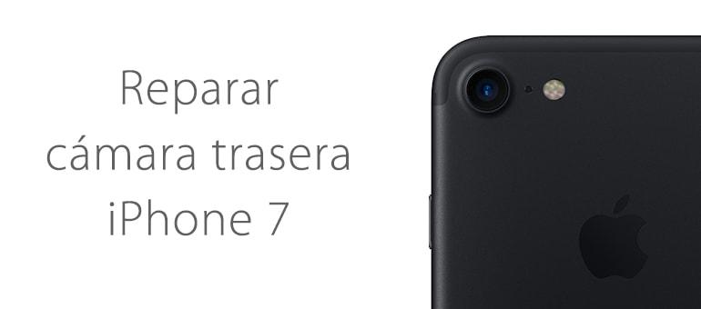 Cambiar cámara trasera rota de iPhone 7 en iFixRapid