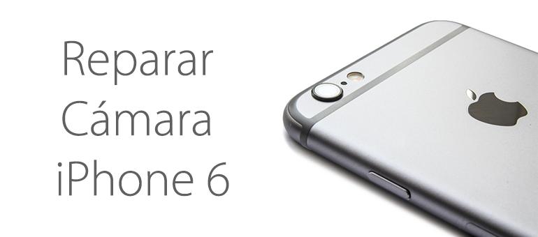 Reparar la cámara rota de iPhone 6 en Servicio Técnico