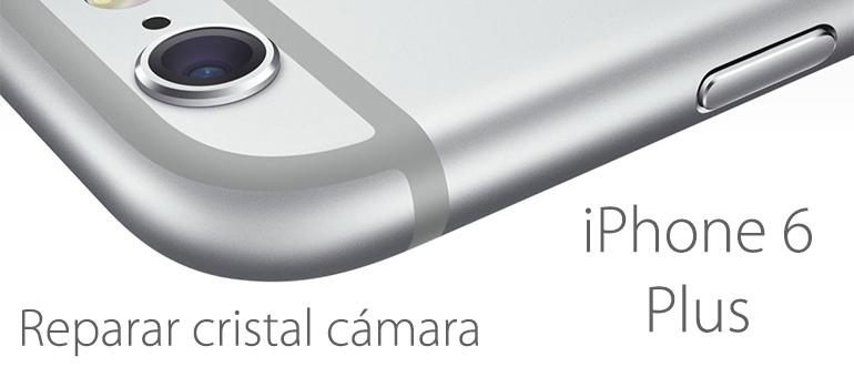 Reparar el cristal de la cámara de iPhone 6 Plus