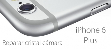 reparar cristal camara iphone 6