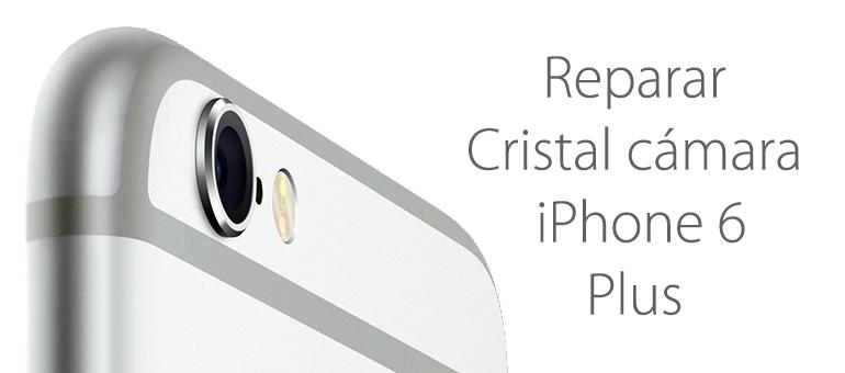 Reparar el cristal roto de la cámara de iPhone 6 Plus