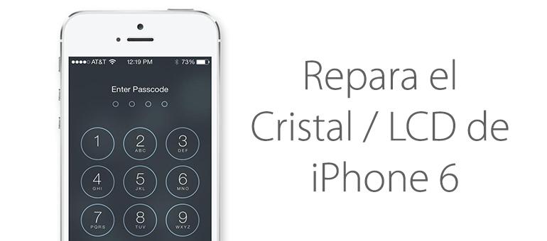 Cambiar el cristal del iPhone 6