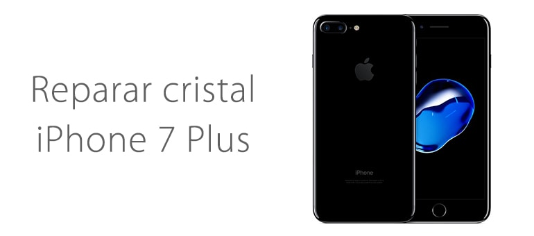 Arreglar el cristal roto de iPhone 7 Plus en iFixRapid