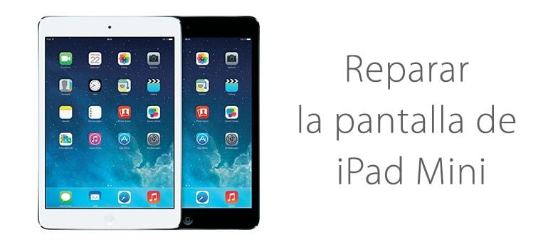 Cambiar el cristal roto de iPad Mini 2 en iFixRapid