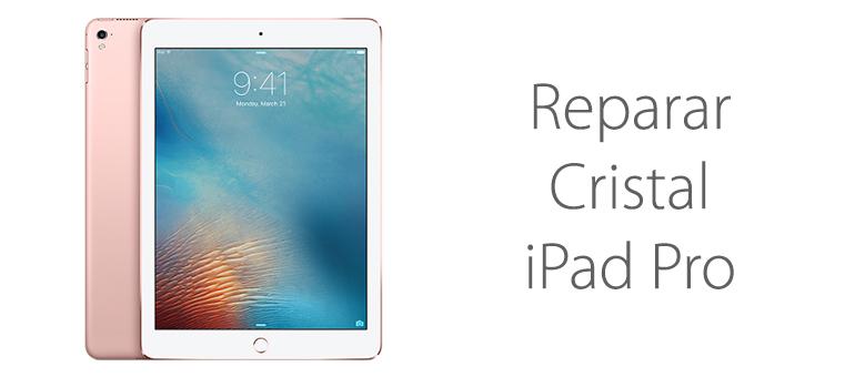 Cambiar cristal roto de iPad Pro en Mallorca