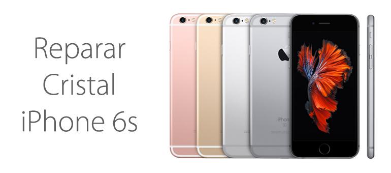 Reparar cristal roto iPhone 6s en Mallorca