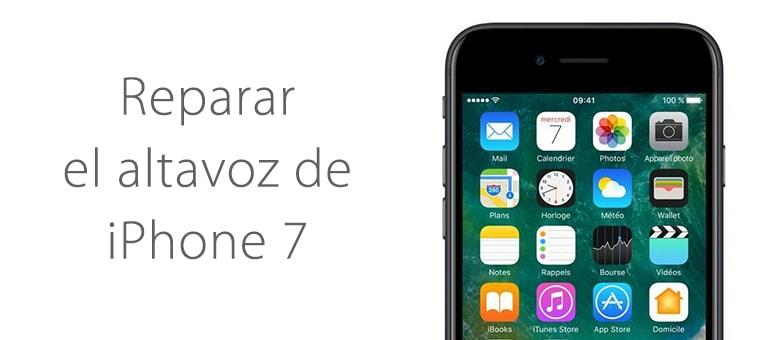 Arreglar el altavoz de iPhone 7 en iFixRapid