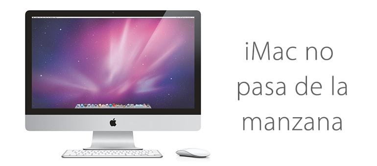 Solución para iMac si no pasa de la manzana y no arranca