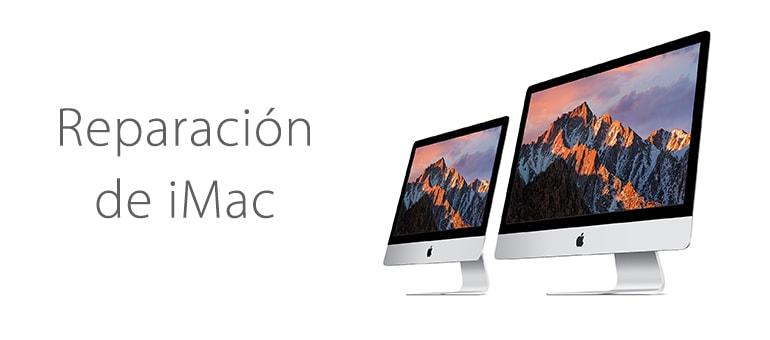 Reparar iMac si la pantalla se queda en blanco