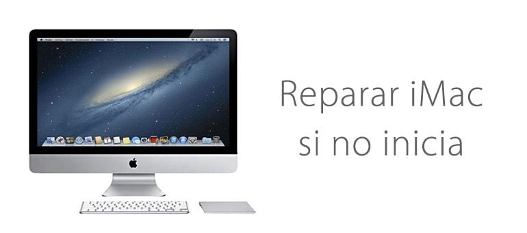 Reparar iMac si no pasa de la manzana y se bloquea