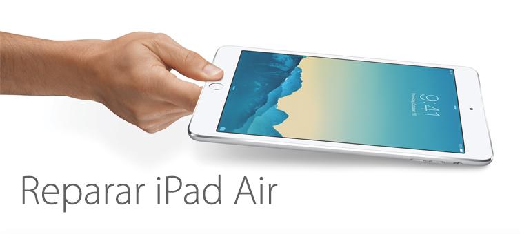 Arreglamos tu iPad Air si está roto o no funciona correctamente