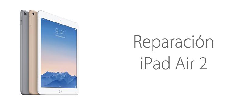 Si tienes un iPad Air 2 ya puedes repararlo