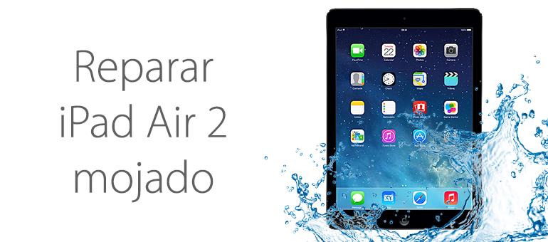 Si se te ha mojado el iPad, puedes traerlo a nuestro Servicio Técnico
