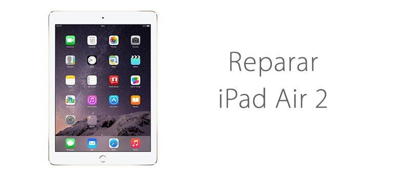 Arreglar iPad Air si no enciende al enchufarlo