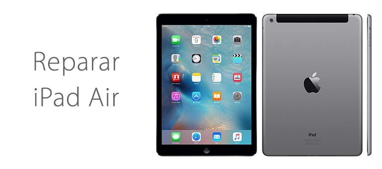 Arreglar iPad Air roto que no enciende