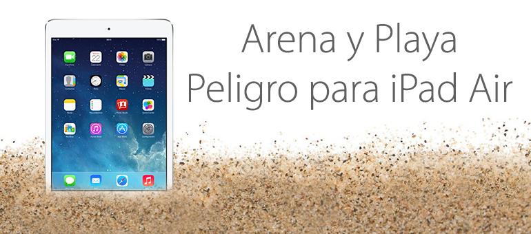 Reparar tu iPad si se te ha mojado en el mar
