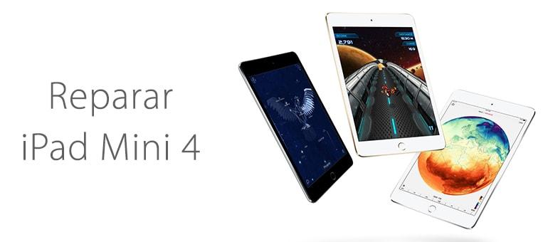 Reparar iPad Mini 4 si se queda en la manzana