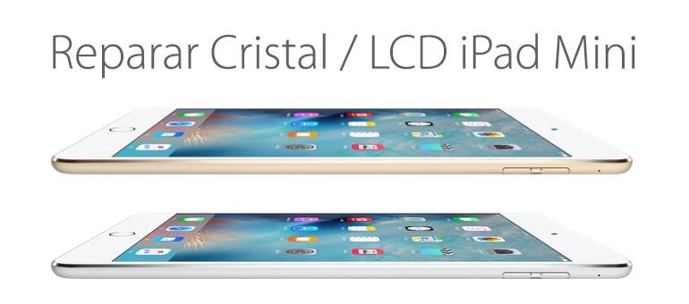 Cambiar el cristal o lcd de iPad Mini si está roto