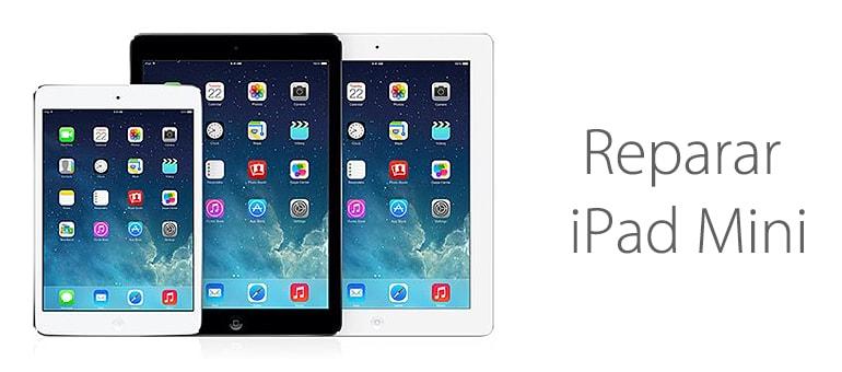 Repara tu iPad Mini si no se enciende o no funciona correctamente