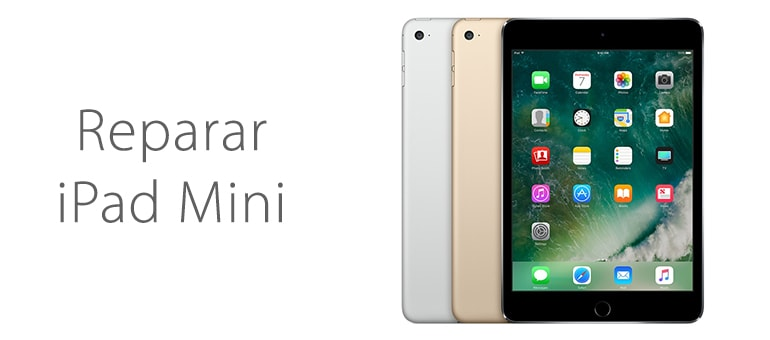 Reparar iPad Mini en el centro de Madrid