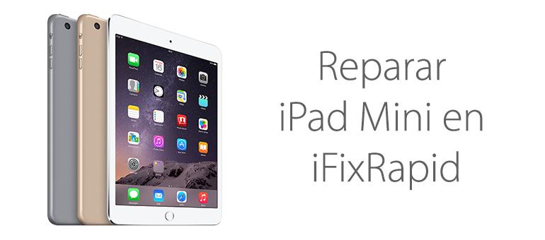 Si la pantalla de iPad Mini está rota, en iFixRapid la reparamos