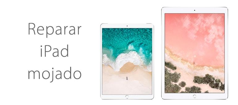 Reparar iPad Mini mojado que no enciende
