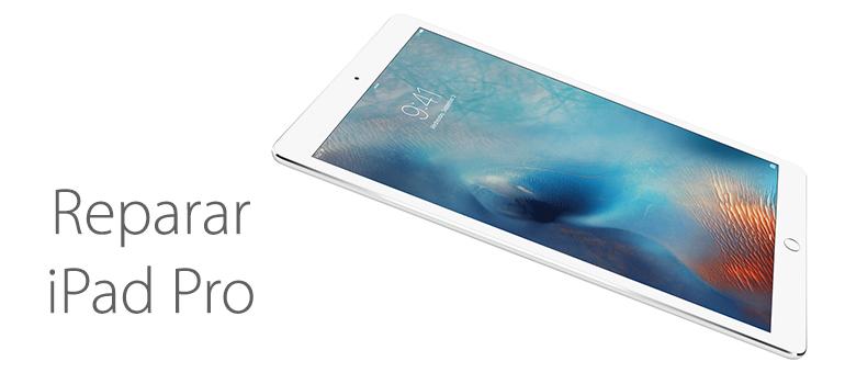 Reparar pantalla rota iPad Pro en Mallorca