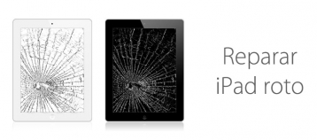 ipad roto pantalla