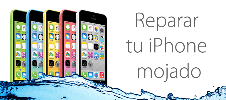 Arreglar iPhone mojado en Madrid con iFixRapid