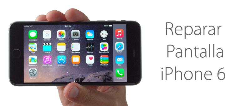 Se me ha roto la pantalla de iPhone 6 ¿Dónde lo puedo reparar?