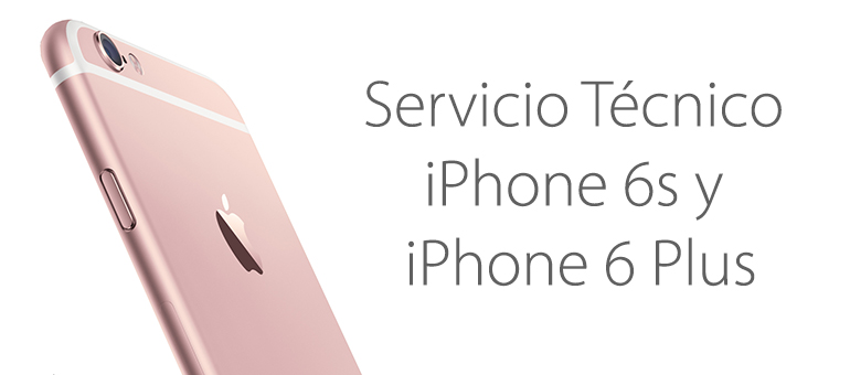 Reparar el cristal roto de iPhone 6S y iPhone 6S Plus