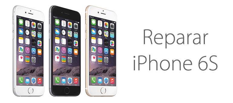 Reparar iPhone 6S en Servicio Técnico iFixRapid