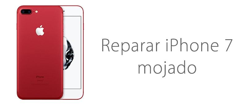 Reparar iPhone 7 mojado en el centro de Madrid