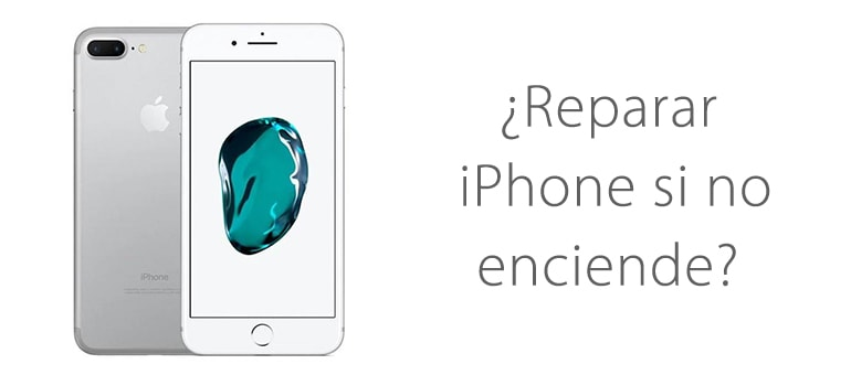 iPhone 7 no enciende ¿Se puede cambiar la batería?