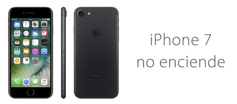 Solución para iPhone 7 si no enciende