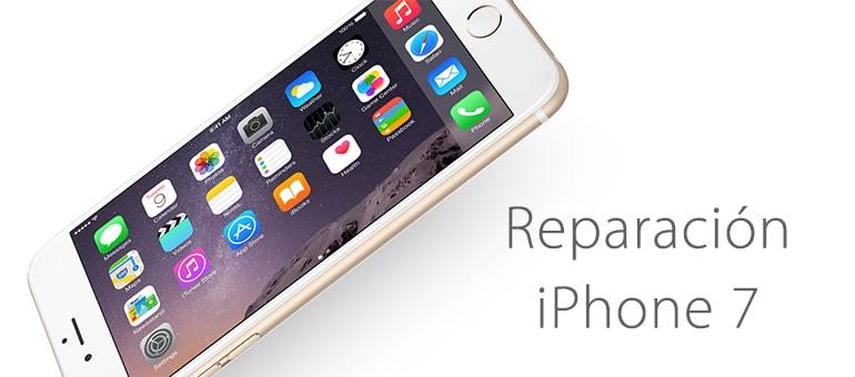 Reparar el botón home de iPhone 7 si no funciona o falla