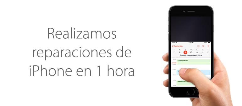 Reparaciones de iPhone en 1 hora en Madrid
