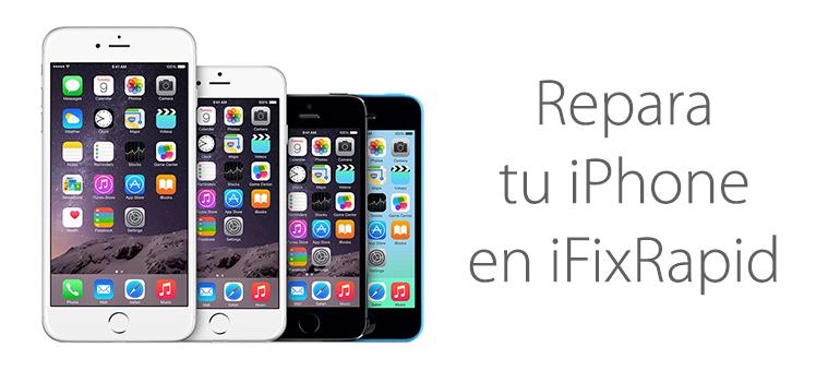Reparar iPhone 6s y iPhone 6s Plus con iFixRapid en Mallorca