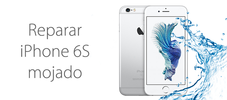 recuperar iphone 6s mojado