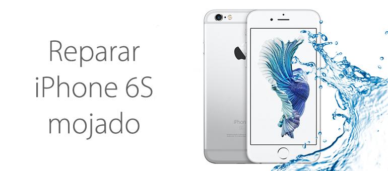 Reparar iPhone 6S mojado si no enciende