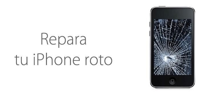 ¿Quieres reparar tu iPhone roto?