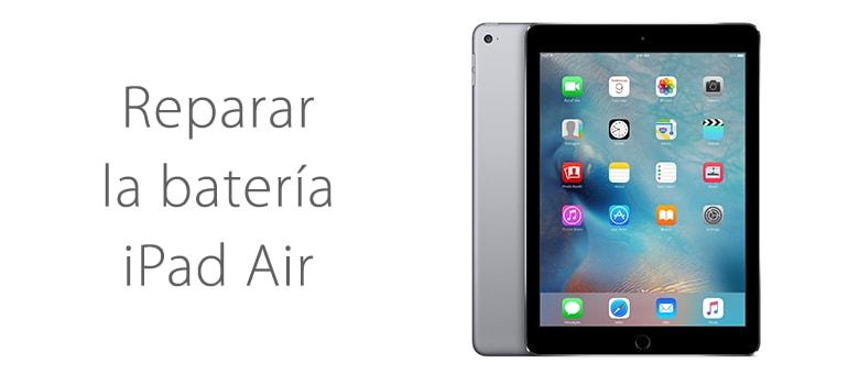 Cambiar la batería de iPad Air si no enciende